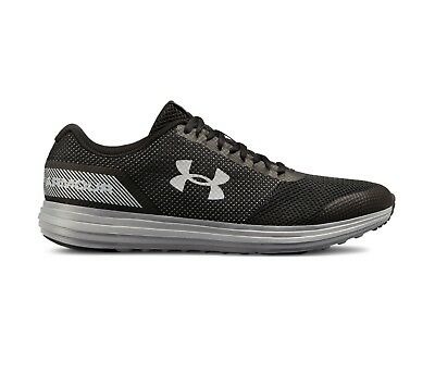 Under Armour Men's UA Surge Running Shoes Black/Grey 3020336-004 US Sizes