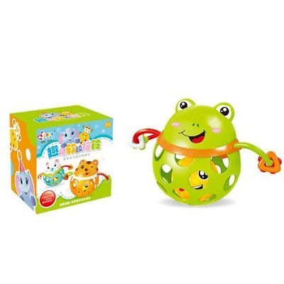Baby Hand Grab Rattle Infant Teether Rattle Soft Rubber Toy 2RT