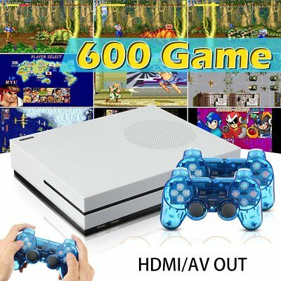 Retro Home TV Video Game Console RS-89t 32bit 4GB Built-in 600 Games HDMI TV OUT