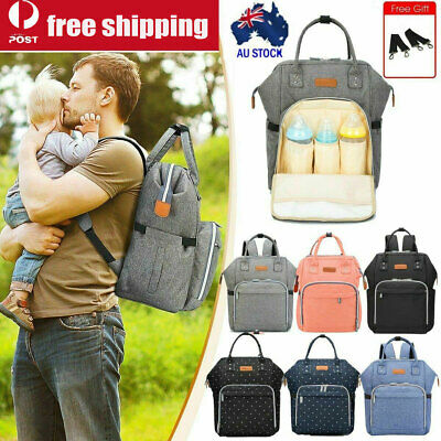 Luxury Multi-functional Baby Diaper Nappy Backpack Waterproof Mummy Bag