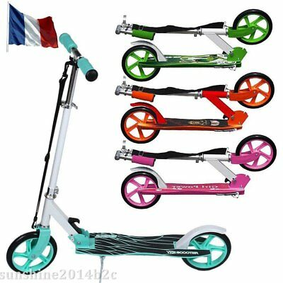 Stuntscooter Scooter Roller repliable Trotinette freestyle ADULTE en 3 Couleurs