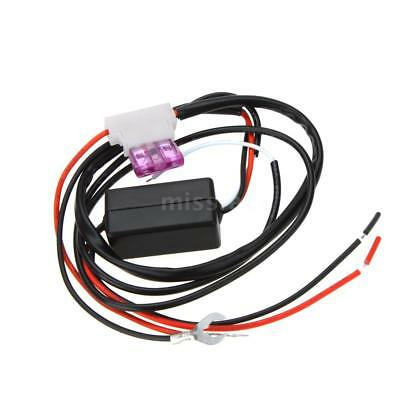 Auto LED Daytime Running Light DRL Auto On/Off Switch Controller 12V M5L6