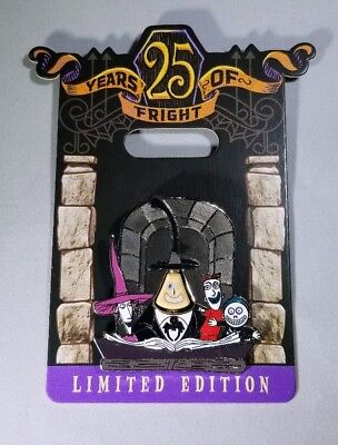 Disney Nightmare Before Christmas 25 Years Of Fright Mayor Pin LE 4000