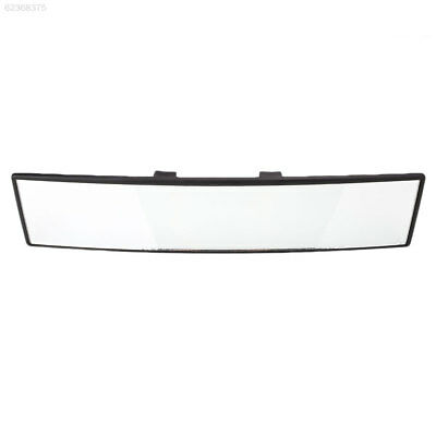 BC7E 8E9F Universal Wide Car Vehicle Interior Clip On Panoramic Rear View Mirror