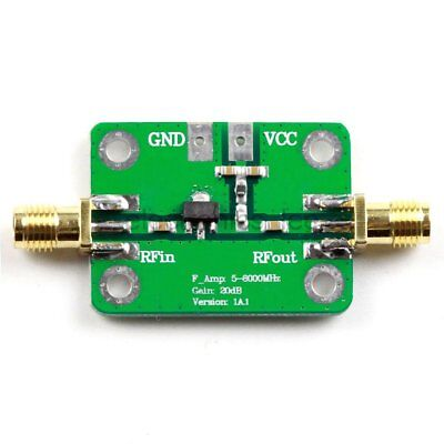 1PC 5M-6 GHz Gain 20dB RF Ultra-wideband Power Amplifier