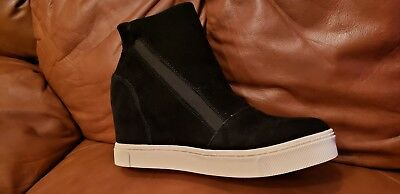 621a2da8be6 STEVE MADDEN LAZARUSS Suede Sneakers leather boots Sz 13M ( 364 ...