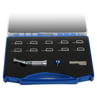 Orthodontic Dental 4:1 Contra Angle Reciprocating Stripping IPR KIT Winkelstück