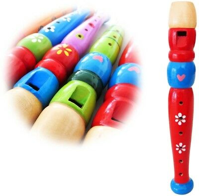 Keepdrum KFL1RD Wooden Red For Kids Children's Recorder. Unbekannt