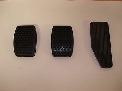 3 X Daewoo Matiz Accelerator, Brake and Clutch Pedal Rubbers 1998-2006