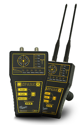 MWF Spark - Professional Prospecting Deep Geolocator Metal Detector for Gold