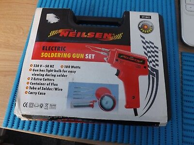 Used Neilsen Electric Soldering Gun Set