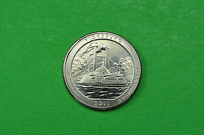 2011-P  BU  Mint State (Vicksburg) US National Park Quarter