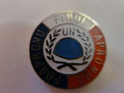Pin's   United Nations  /  Forpronu  /  Finul /  Apronuc   /  Rare