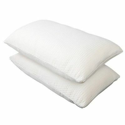 2X Premium Visco Elastic MEMORY FOAM Pillow Extra Thick Medium to High #HT