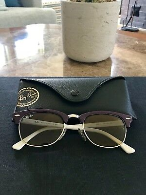 47ce777d3cd4f ... rb 2156 990 58 red havana sunglasses a72d9 c5eba  best authentic ray  ban clubmaster purple white designer sunglasses style rb2156 49mm c5f4e  ffe4d