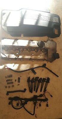 M56 VALVE COVER full KIT. VC, beauty cover, coils, harness,  dipstick tube. E46