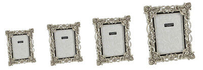 Ornate Antique Vintage Style Photo Frame Art Deco Picture Distressed Shabby Chic
