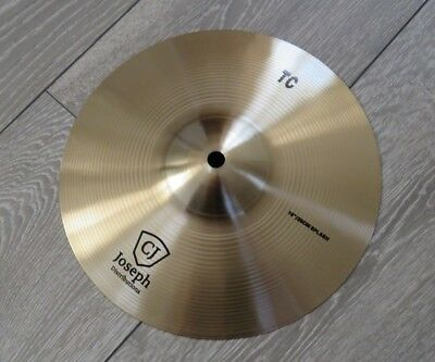 "10"" splash cymbal - Tongxiang TC series - Traditional Sound - B20 Alloy! Pro!"