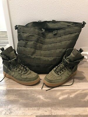 SF Air Force 1 'Faded Olive' Nike 859202 339 | GOAT