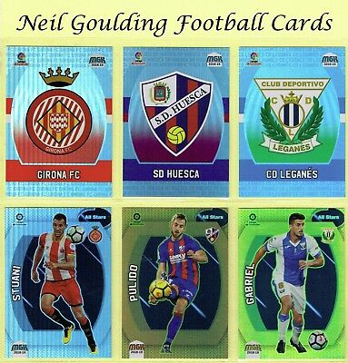Panini MEGACRACKS [SPAIN] 2018-2019 ☆☆☆ La Liga Football Cards ☆☆☆ #244 to #324