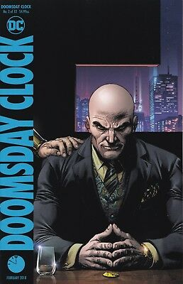 Doomsday Clock #2 (of 12) DCU Lex Luthor 'B' cover variant Watchmen