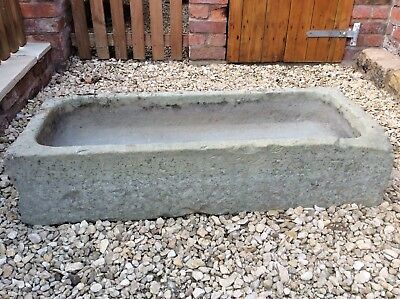 stone trough lovely original Old Farm trough/ Planter no cracks