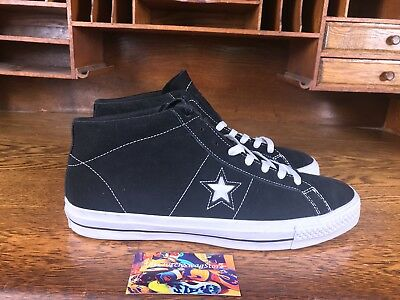 Converse Cons Star Player Pro Mens Size 10.5 Skate Shoes SNEAKERS Black Blue