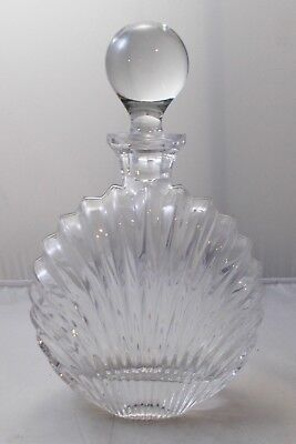 Villeroy and Boch - ribbed wine / whisky decanter with stopper Platano? UNUSED