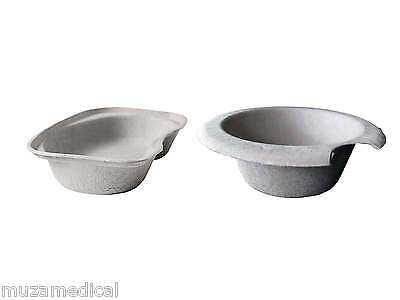 Disposable Hospital Medical Pulp Biodegradable - Commode Bowls Kidney Tray Dish