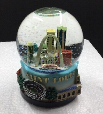 St. Louis Snow Globe - Saint Louis Missouri Landmark Souvenir Gift | 3.5 Inches