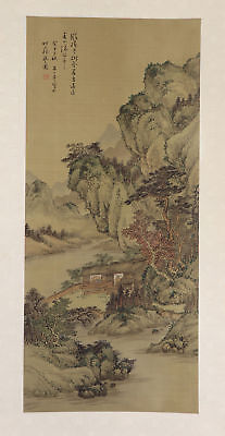 Chinese hanging scroll art Painting Mountain Landscape