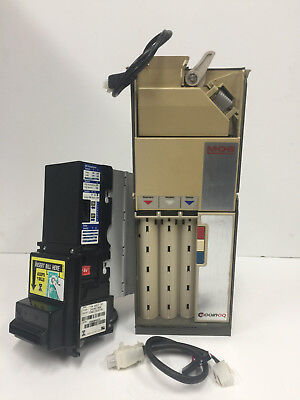 Coinco 9302gx Coin Changer,VN 2312 U3 Validator with MDB Harness REFURBISHED