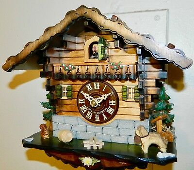 ****cute Original Black Forest Germany Cuckoo Clock*****