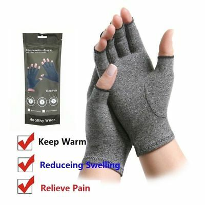 Gloves Pain Relief Carpal Hand Wrist Compression Elasticity Arthritis Support