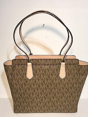 dd616c96a797 Nwt $358 Michael Michael Kors Dee Dee Large Mk Signature Convertible Tote