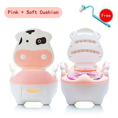 Kids Toilet Seat Baby Children Toddler Training Potty Safety Soft Urinal Chair