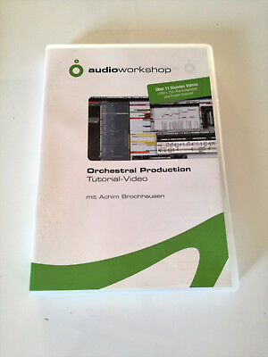 Audio Workshop - Orchestral Production Tutorial DVD - TOP!