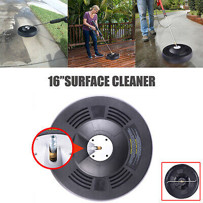 """16"""" Surface Cleaner For Pressure Washer quick connector up to 3k psi"""