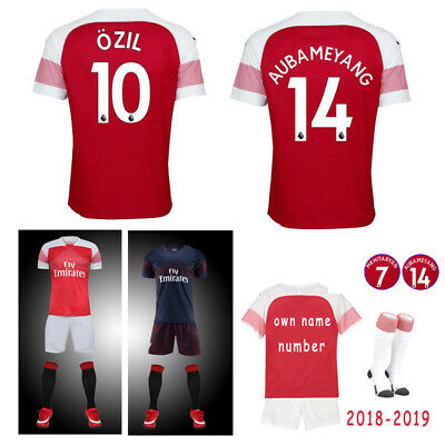 2018-2019 Football Kits Soccer Jersey For Kids Adults Youth Training Suits 3-14Y