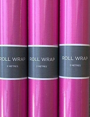Hallmark Pink Wrapping Paper Rolls 2 - 96 Metres - 70cm Wide-Royal Mail Tracked