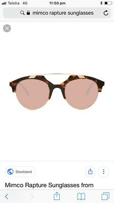 Mimco rapture sunglasses brand new with tags rrp $179