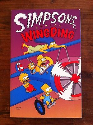 The Simpsons Comics Wing Ding First Edition 1997 Graphic Novel NM