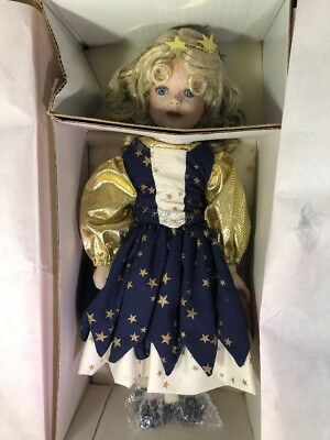"Paradise Galleries ""Twinkle"" 14"" rare 90'smusical porcelain doll"
