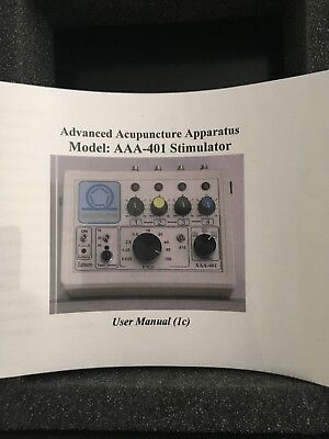 Harmony Biophysical Solutions Advanced Acupuncture Apparatus Model: AAA-401