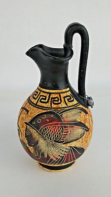 Copy Of Classical Period 430 BC Greece Greek Pottery Pitcher Vase