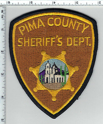 Pima County Sheriff's Dept (Arizona) Shoulder Patch - version in use until 2000