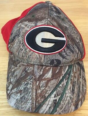 c83345e7f2e University Of Georgia UGA Bulldogs G Logo Camouflage Camo Baseball Hat Cap