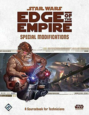 Star Wars RPG Edge of the Empire - Special Modifications englische Ausgabe