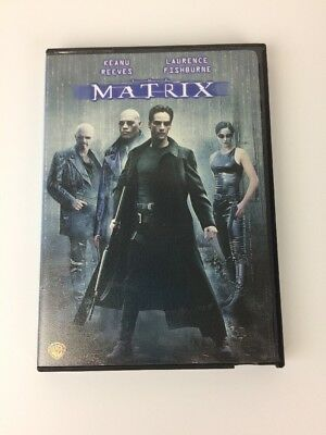 The Matrix DVD 2007 Keanu Reeves Laurence Fishburne