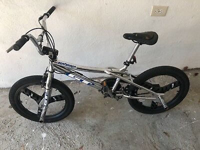 CHROME VINTAGE GT Performer BMX Bike Mid Old School Original Parts 90s Mags  Dyno